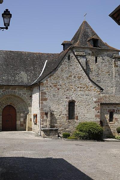 Photo du Monument Historique Eglise Saint-Saturnin situé à Saint-Cernin-de-Larche