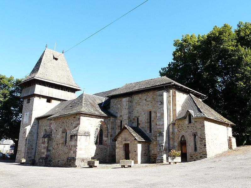 Photo du Monument Historique Eglise Saint-Amant situé à Saint-Chamant