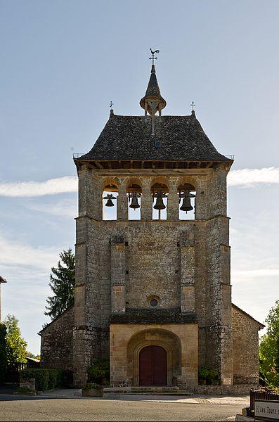 Photo du Monument Historique Eglise Saint-Cyr-Sainte-Julitte situé à Saint-Cirgues-la-Loutre