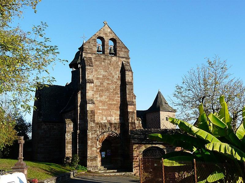 Photo du Monument Historique Eglise Saint-Cyr Sainte-Julitte£ situé à Saint-Cyr-la-Roche