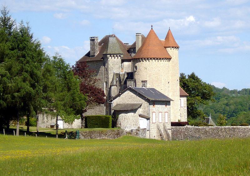 Photo du Monument Historique Château de La Ganne situé à Saint-Exupéry-les-Roches