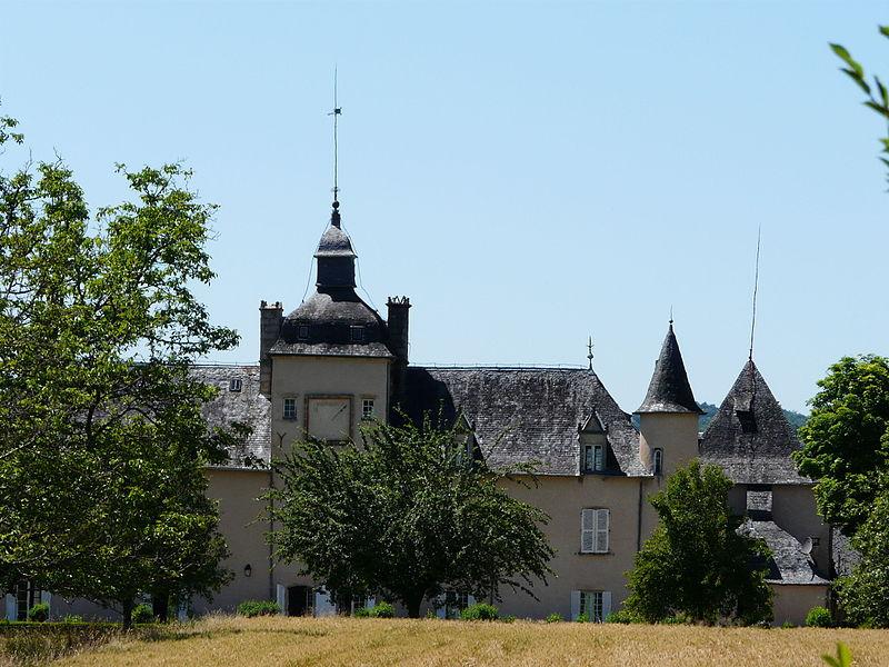 Photo du Monument Historique Château de la Morguie situé à Sainte-Fortunade