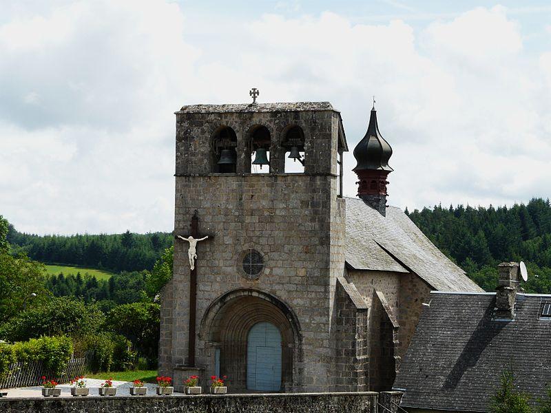 Photo du Monument Historique Eglise Saint-Frédulphe situé à Saint-Fréjoux