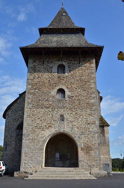 Photo du Monument Historique Eglise Saint-Gall situé à Saint-Jal