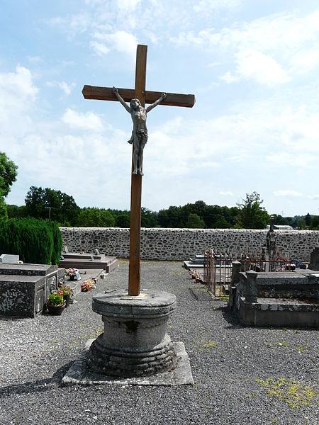 Photo du Monument Historique Croix du cimetière situé à Sainte-Marie-Lapanouze