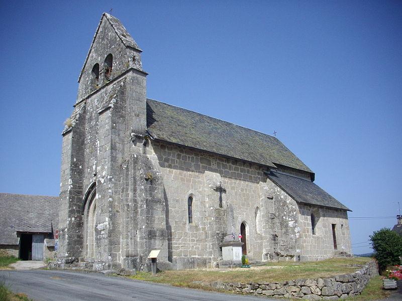Photo du Monument Historique Eglise Notre-Dame de l'Assomption situé à Sainte-Marie-Lapanouze