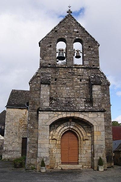 Photo du Monument Historique Eglise Saint-Martial situé à Saint-Martial-Entraygues