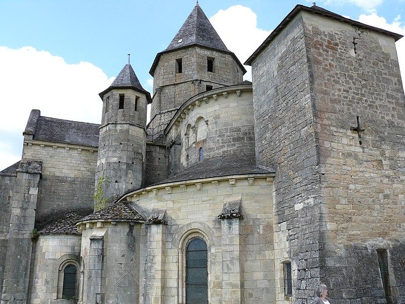 Photo du Monument Historique Eglise Saint-Robert situé à Saint-Robert