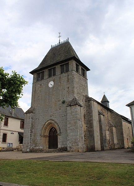 Photo du Monument Historique Eglise Saint-Sauveur situé à Saint-Salvadour