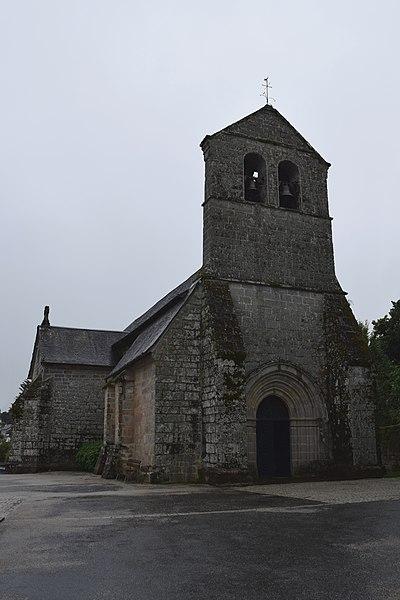 Photo du Monument Historique Eglise Saint-Pierre-ès-Liens situé à Sarran