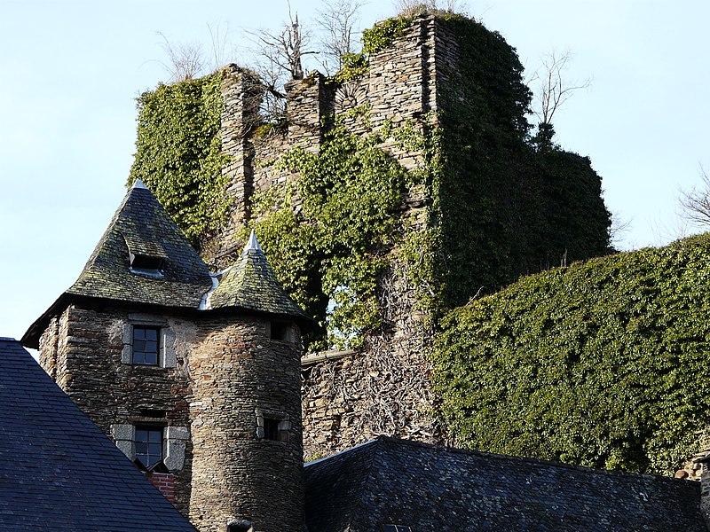 Photo du Monument Historique Château de Ségur situé à Ségur-le-Château