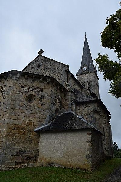 Photo du Monument Historique Eglise Notre-Dame situé à Seilhac