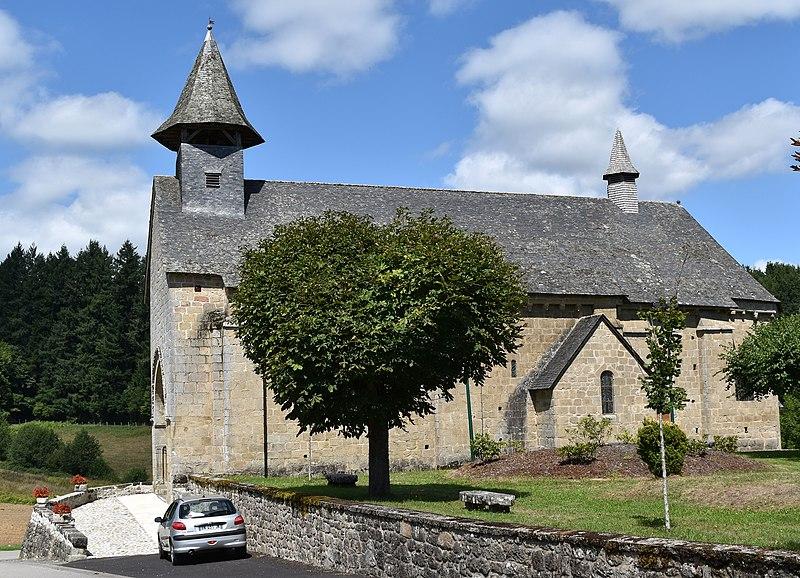 Photo du Monument Historique Eglise Sainte-Radegonde situé à Sérandon