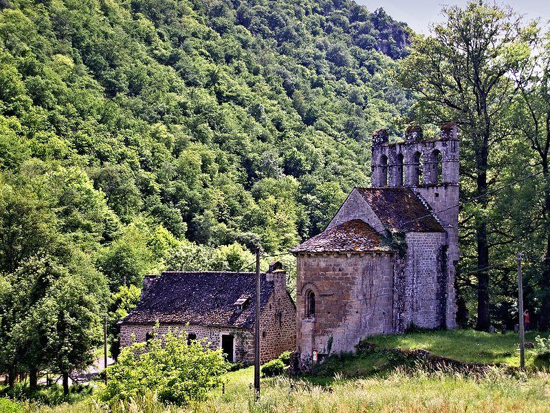 Photo du Monument Historique Chapelle de Glény situé à Servières-le-Château