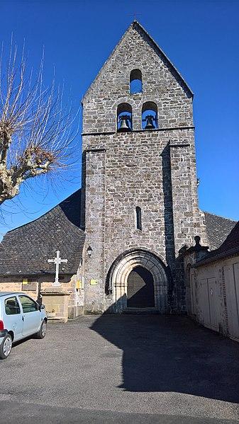 Photo du Monument Historique Eglise Saint-Saturnin situé à Sioniac