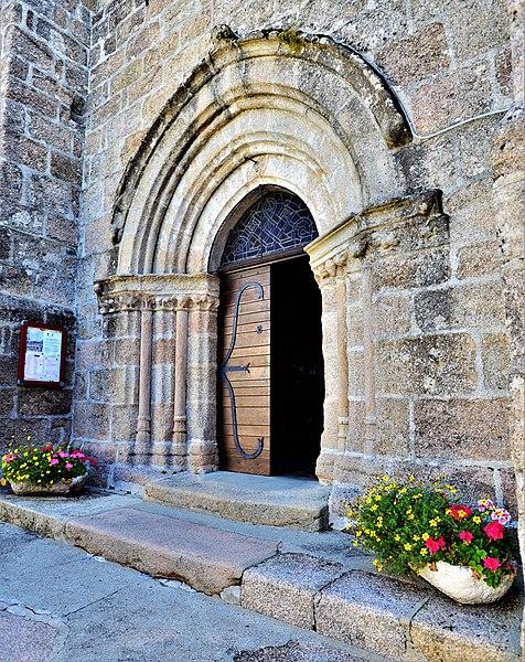 Photo du Monument Historique Eglise Saint-Martin situé à Sornac