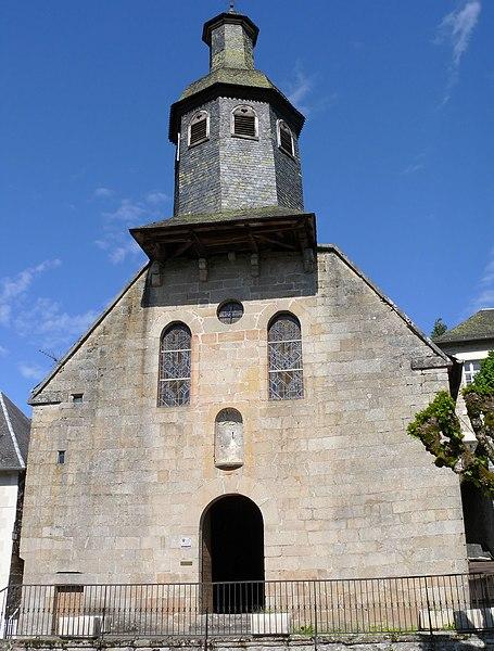 Photo du Monument Historique Chapelle des Pénitents situé à Treignac