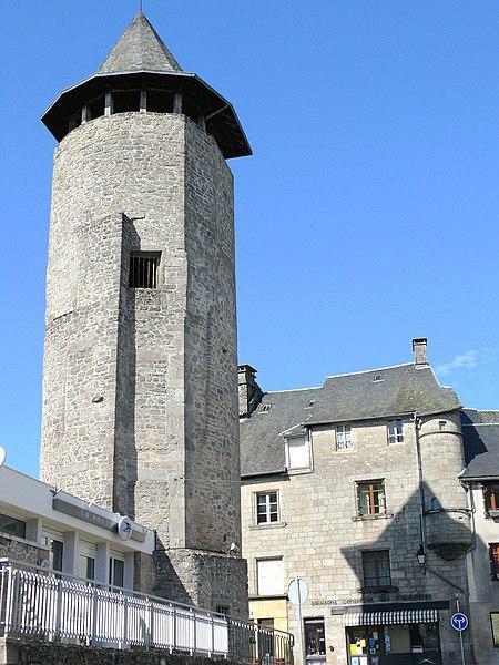 Photo du Monument Historique Ancienne école privée, anciennement hôtel de la famille Forest de Faye situé à Treignac