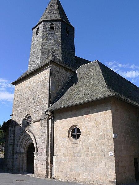 Photo du Monument Historique Eglise Notre-Dame des Bans situé à Treignac