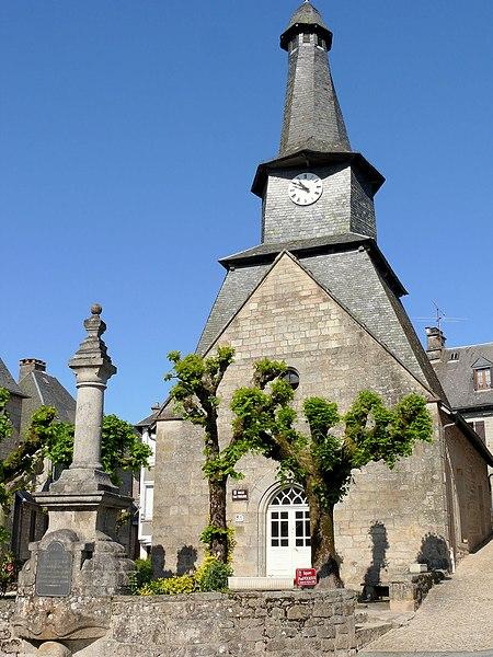 Photo du Monument Historique Mairie situé à Treignac