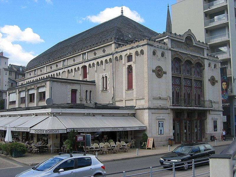 Photo du Monument Historique Théâtre municipal L'Eden situé à Tulle
