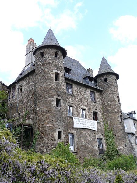 Photo du Monument Historique Château Pontier situé à Uzerche