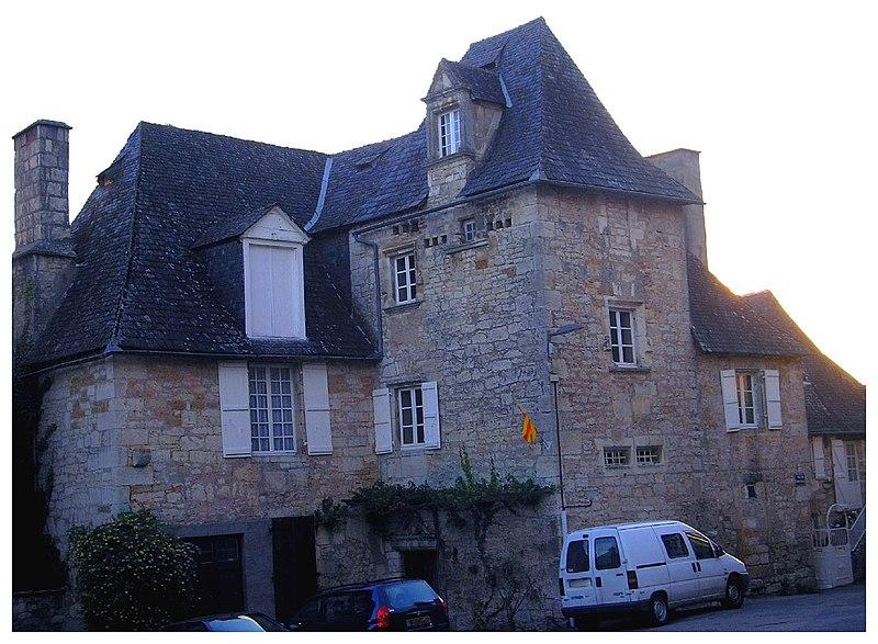 Photo du Monument Historique Ancienne maison du Sénéchal situé à Uzerche