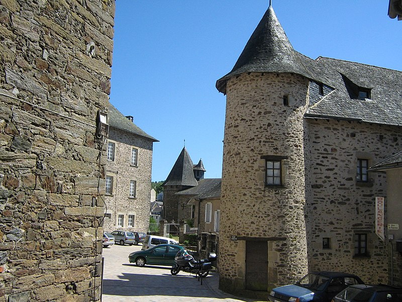 Photo du Monument Historique Tour du Prince Noir situé à Uzerche