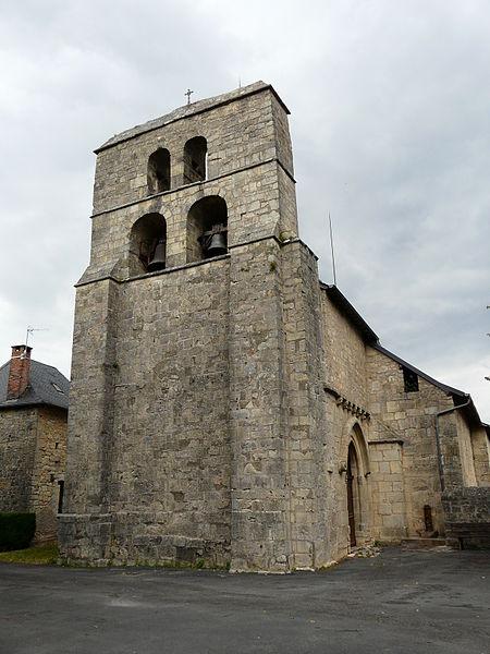 Photo du Monument Historique Eglise Saint-Hippolyte situé à Yssandon