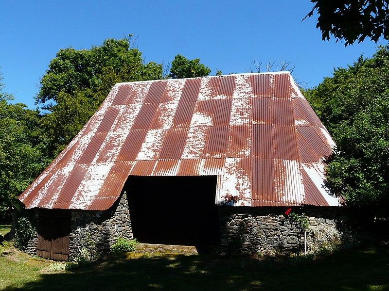 Photo du Monument Historique Grange ovale du Montet situé à Ségur-le-Château