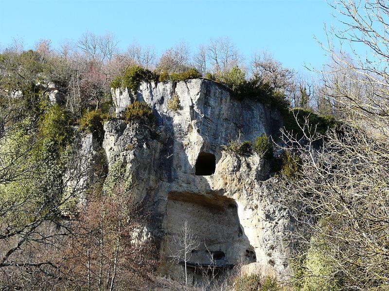 Photo du Monument Historique Grotte du moulin de Laguenay, à la Boissière situé à Lissac-sur-Couze