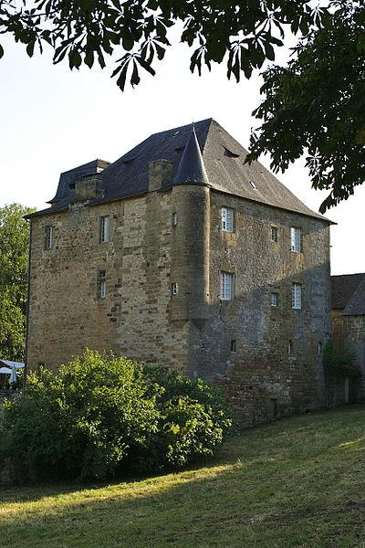 Photo du Monument Historique Château de Lissac situé à Lissac-sur-Couze