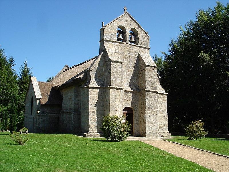 Photo du Monument Historique Eglise Saint-Martial situé à Lestards