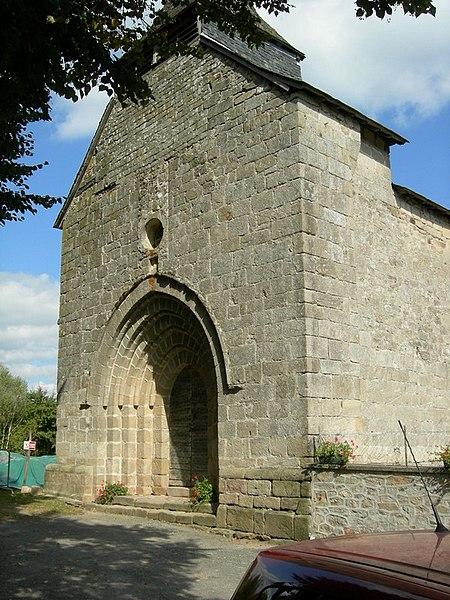 Photo du Monument Historique Ancienne commanderie de l'ordre du Saint-Sépulcre situé à Soudaine-Lavinadière