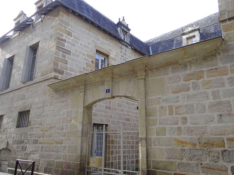 Photo du Monument Historique Hôtel Salès de Marqueyssac situé à Brive-la-Gaillarde