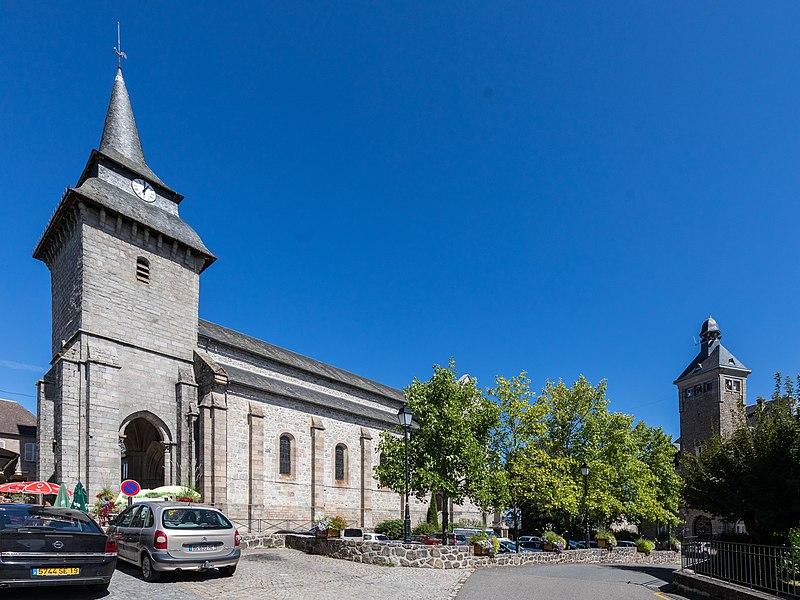 Photo du Monument Historique Eglise Saint-Antoine-l'Ermite situé à Egletons