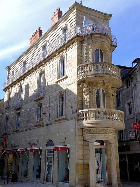 Photo du Monument Historique Immeuble situé à Brive-la-Gaillarde