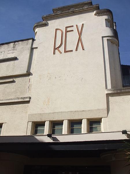 Photo du Monument Historique Cinéma Rex situé à Brive-la-Gaillarde