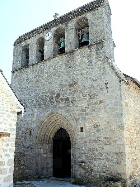 Photo du Monument Historique Eglise Saint-Pardoux situé à Gimel-les-Cascades