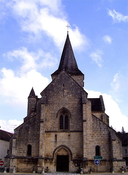 Photo du Monument Historique Eglise Saint-Pierre-Saint-Paul situé à Aignay-le-Duc