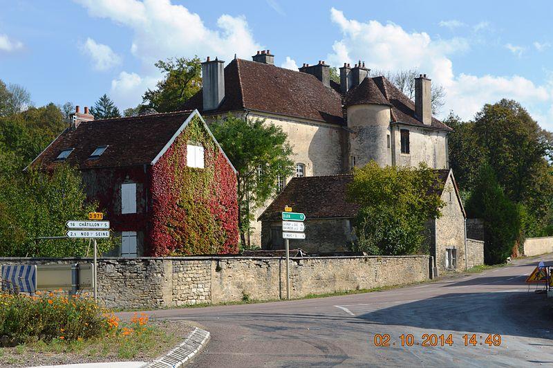 Photo du Monument Historique Château de Tavannes situé à Aisey-sur-Seine