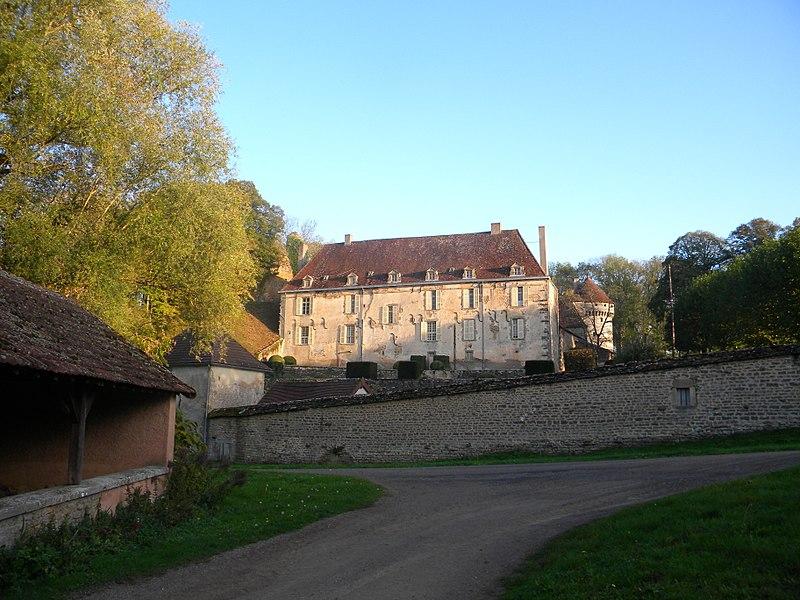 Photo du Monument Historique Château d'Antigny situé à Foissy
