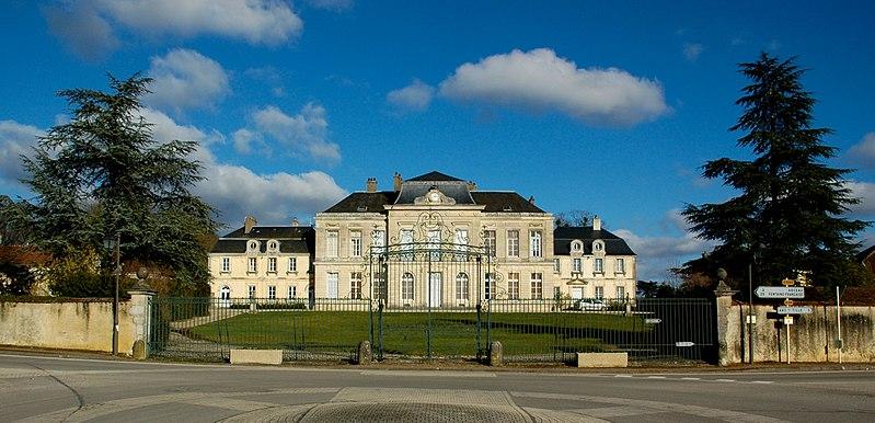Photo du Monument Historique Château d'Arcelot situé à Arceau