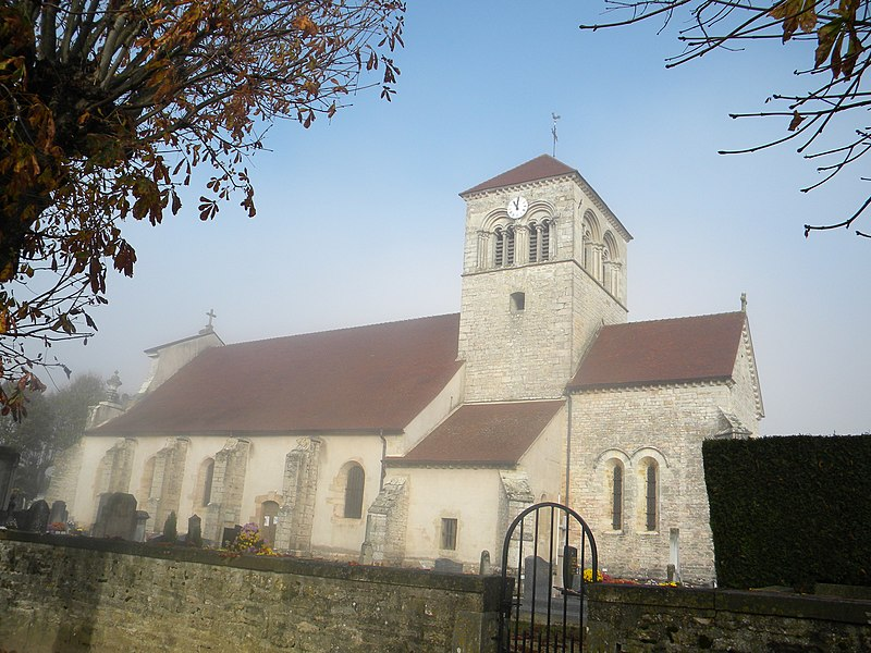 Photo du Monument Historique Eglise situé à Argilly