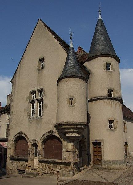Photo du Monument Historique Maison situé à Arnay-le-Duc