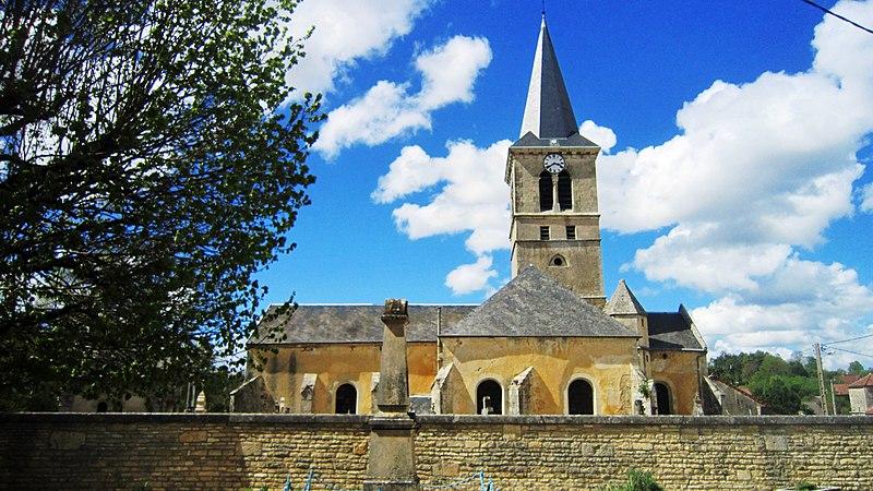 Photo du Monument Historique Eglise situé à Asnières-en-Montagne