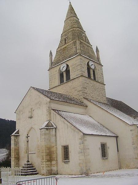 Photo du Monument Historique Eglise situé à Auxey-Duresses
