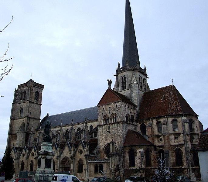 Photo du Monument Historique Eglise Notre-Dame situé à Auxonne