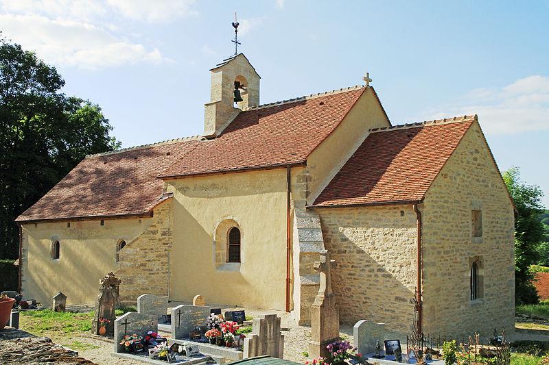 Photo du Monument Historique Chapelle et croix, situées au hameau de Barain situé à Avosnes
