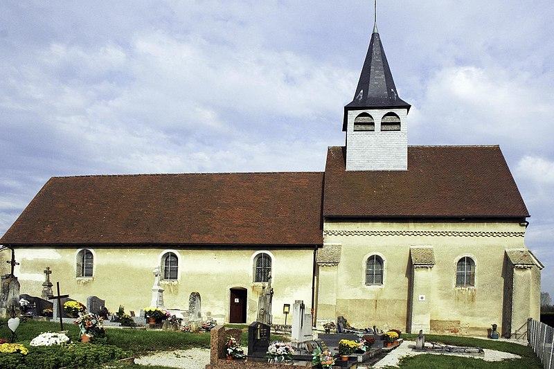 Photo du Monument Historique Eglise de la Nativité situé à Bagnot
